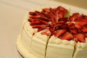 Cravings Strawberry Cheesecake